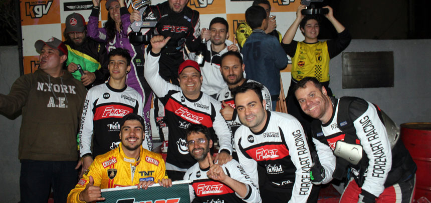Force Kart Racing vence Endurance de Interlagos